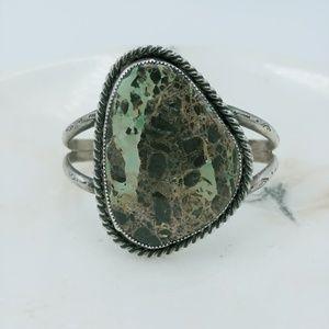 Jewelry - 💎   large carico lake turquoise cuff bracelet
